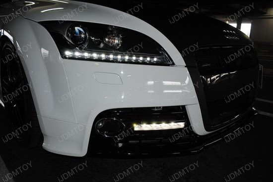 Audi - TT - S - LED - DRLS - Hella - LEDayline - lights - 1